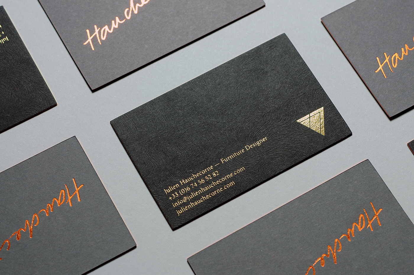 j h visual identity business cards on behance