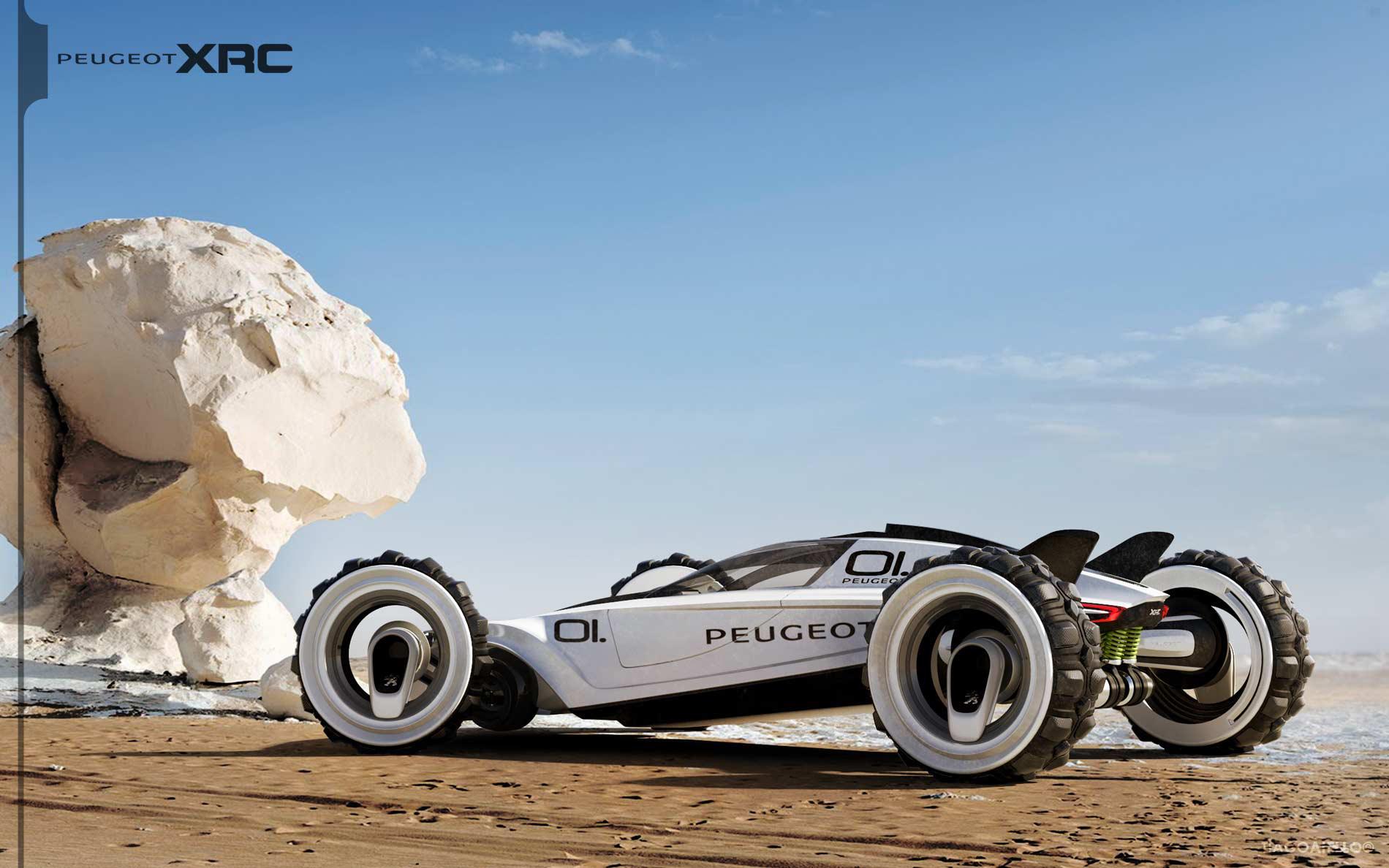 Peugeot XRC Concept on Behance