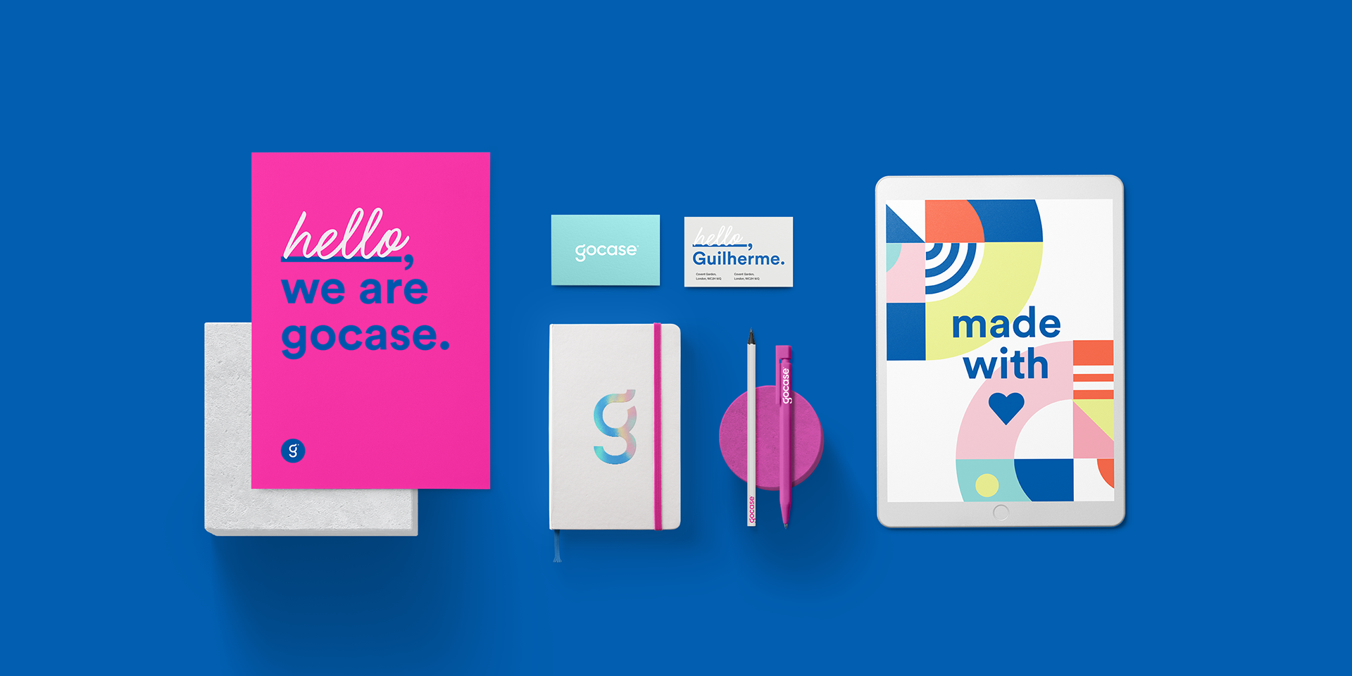 Branding and Visual Identity for Gocase