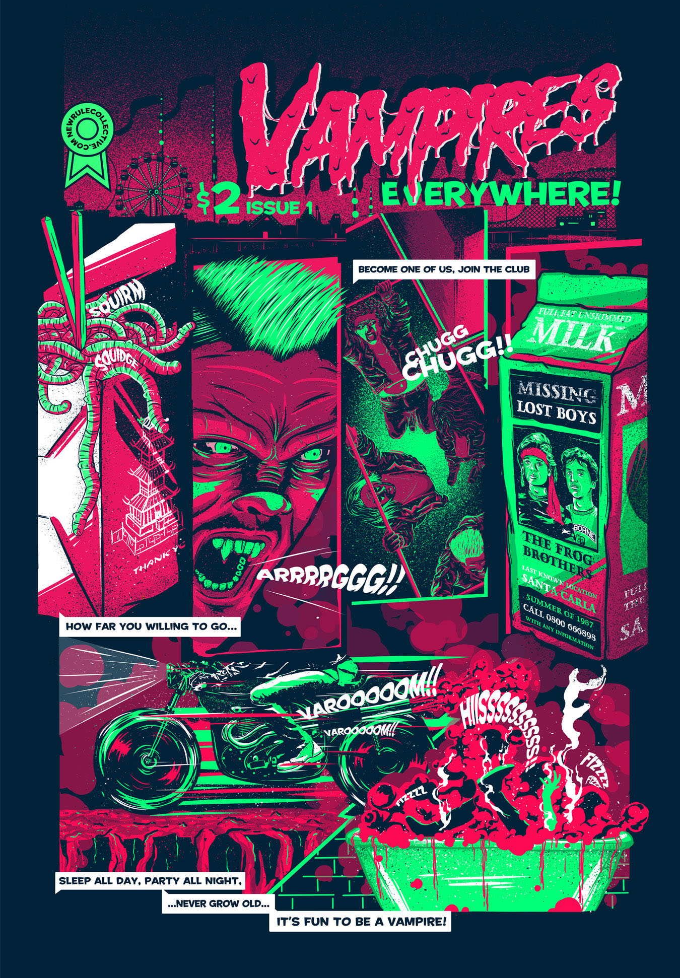 The Lost Boys On Behance
