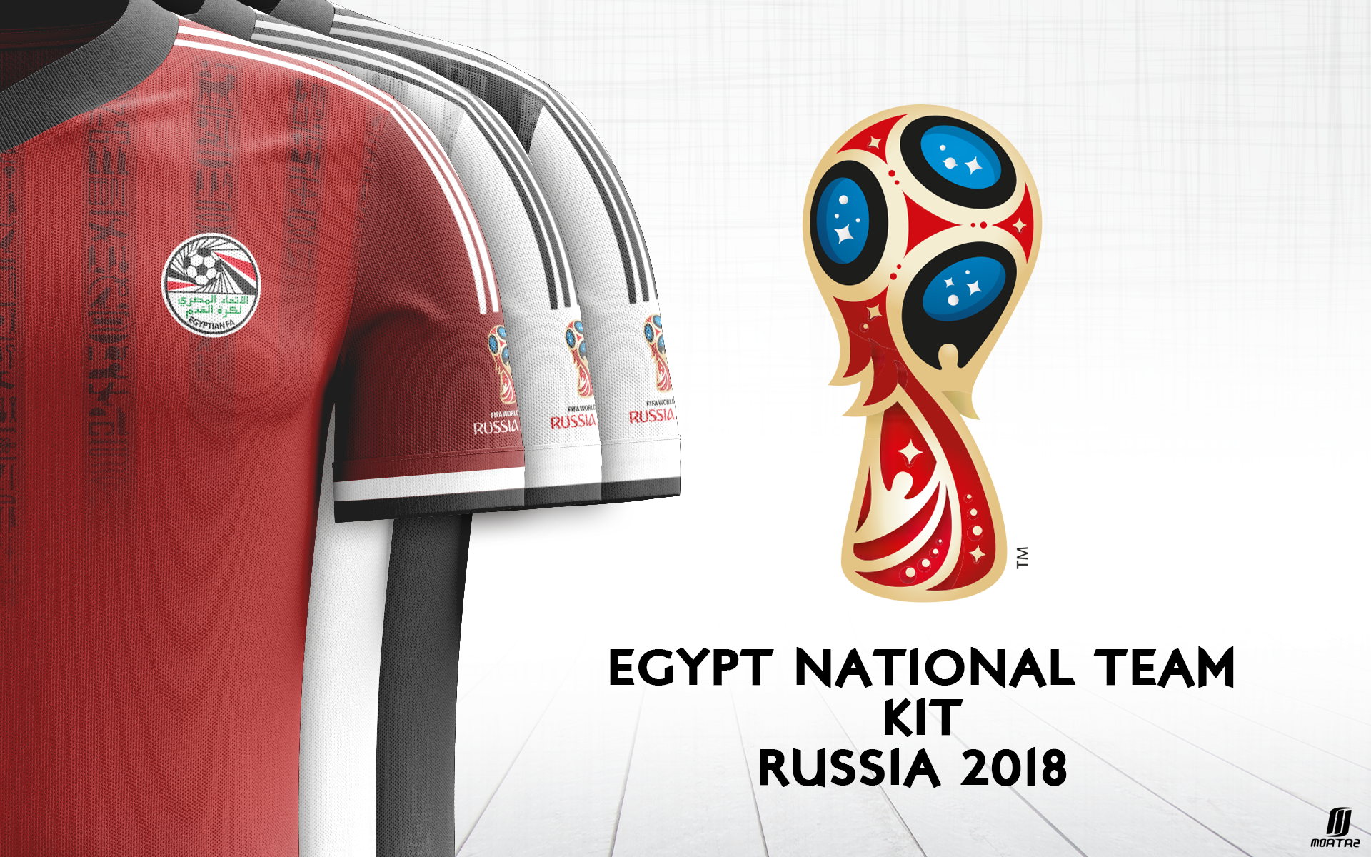 pretty nice bc872 216e2 Egypt National Team Kit on Behance