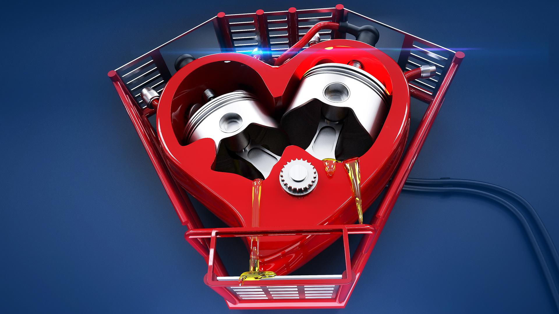 картинки сердце с мотором искали компанию