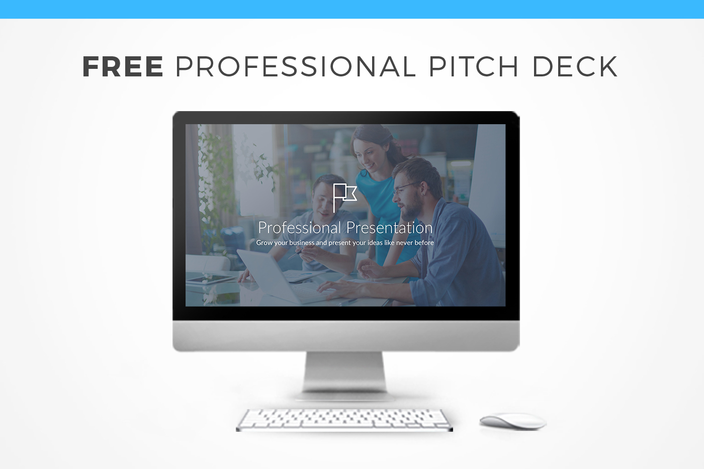 Professional Pitch Deck Free Keynote Template on Behance