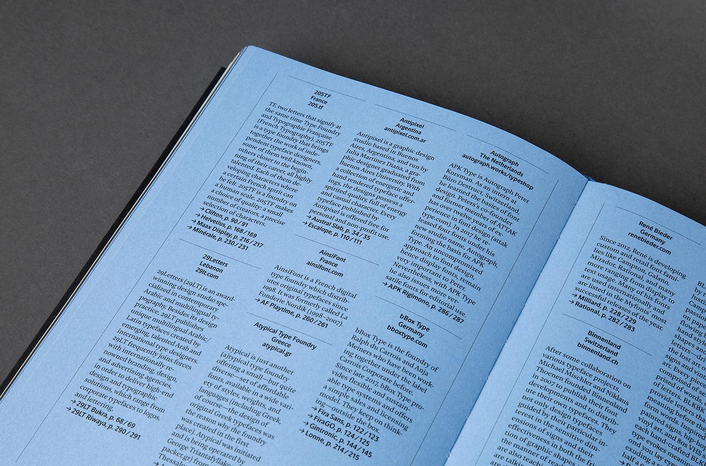 Yearbook of Type III on Behance