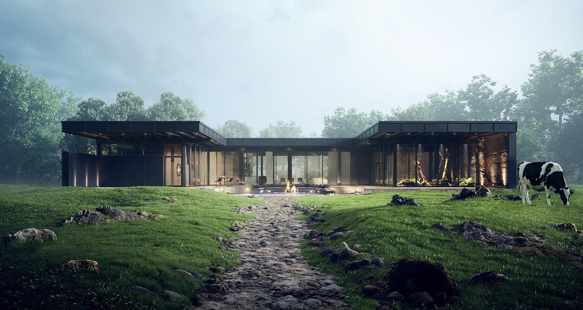 Wizualizacja architektury.