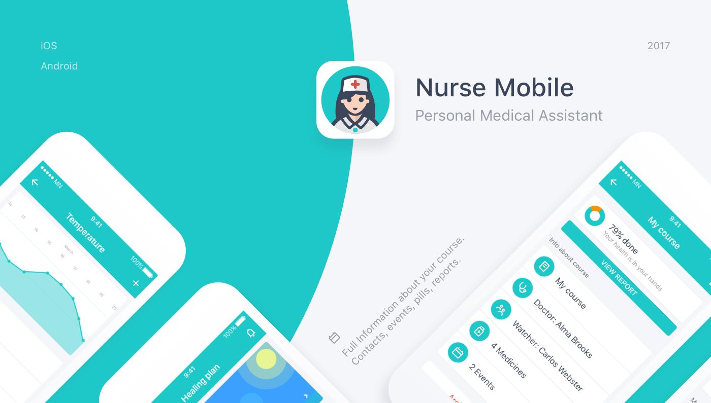 Nurse Mobile - Personal Medical Assistant on Behance