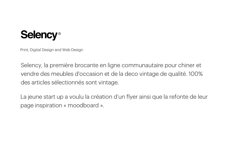Brocante En Ligne Selency selency - start up project on behance