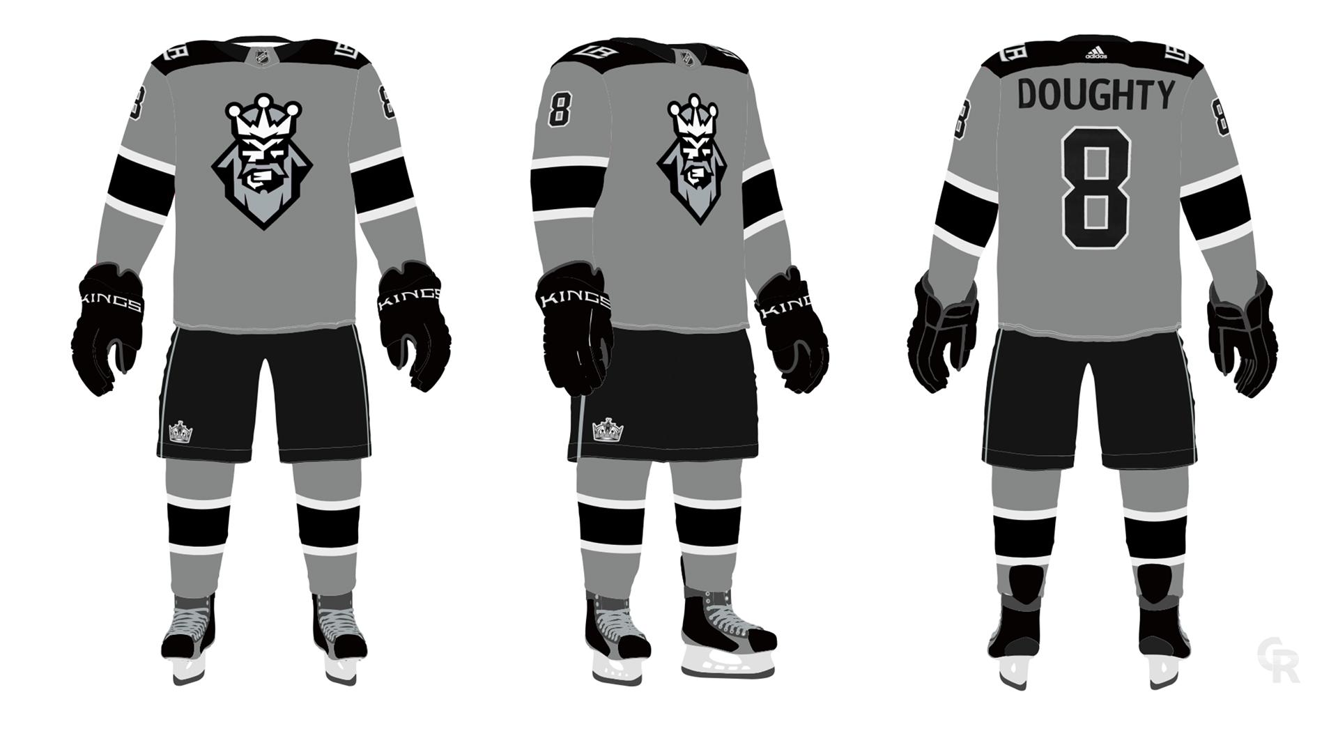 best website 420dc 68617 LA Kings Third Jersey Concept on Behance