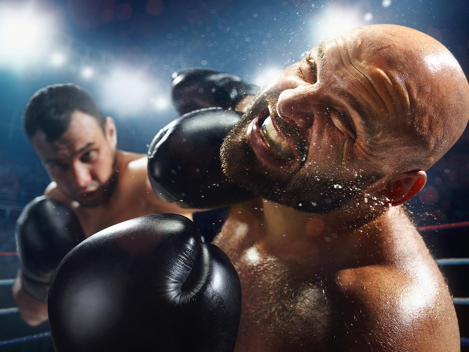 Живые картинки про бокс