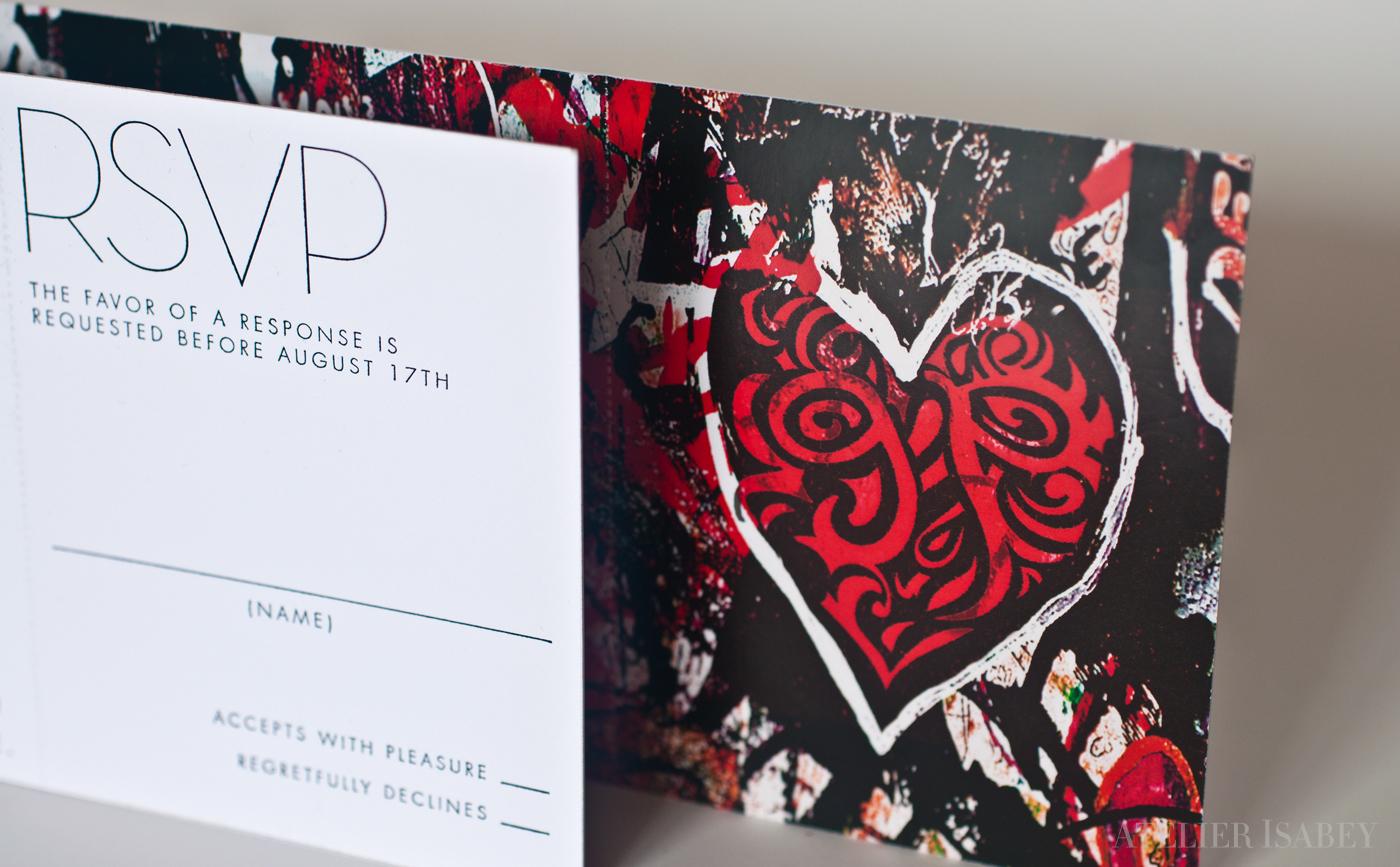 Modern Art Graffiti Wedding Invitation on Behance