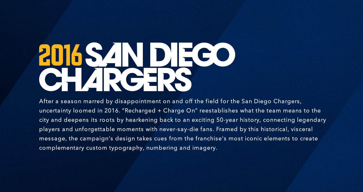san diego chargers 16 on behance