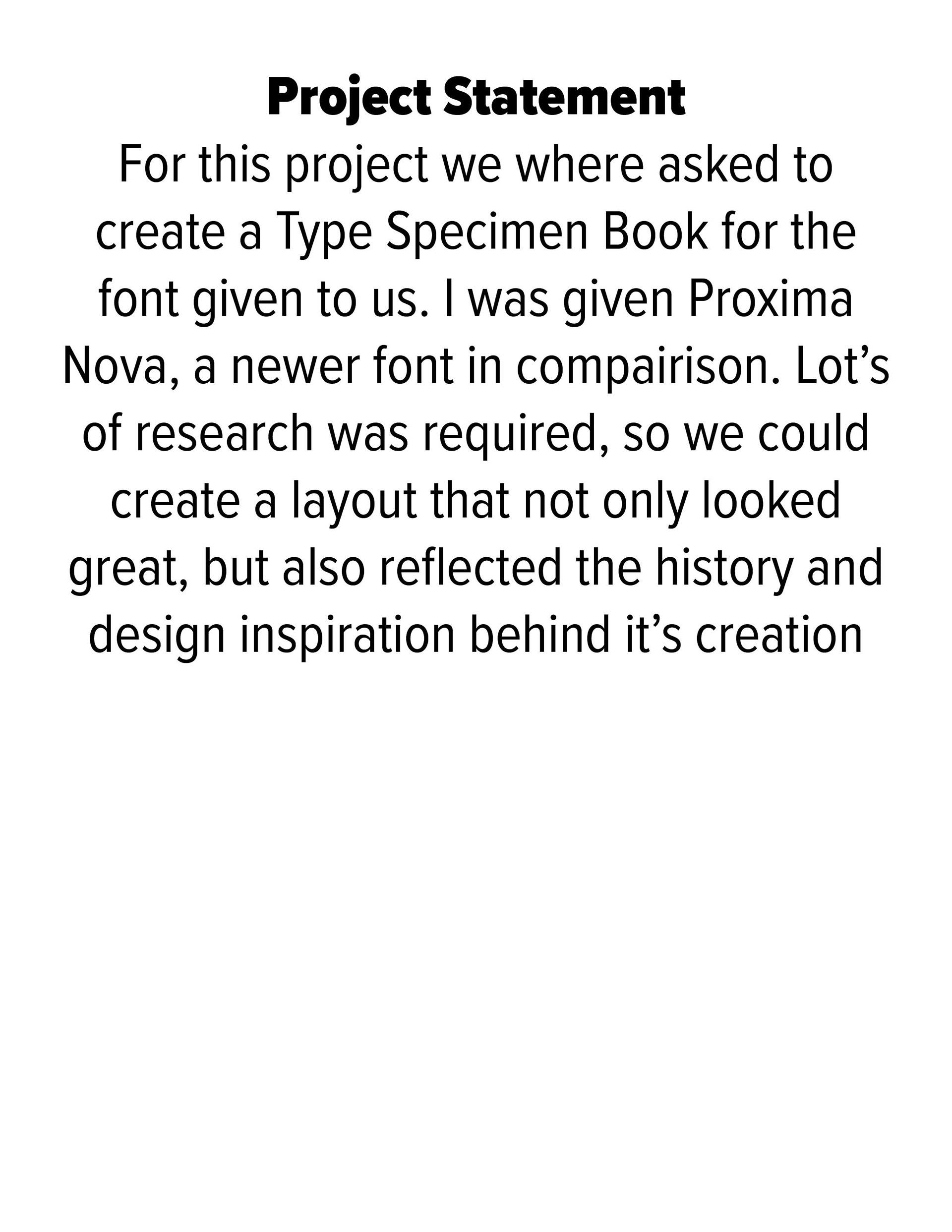 Proxima Nova App on Behance