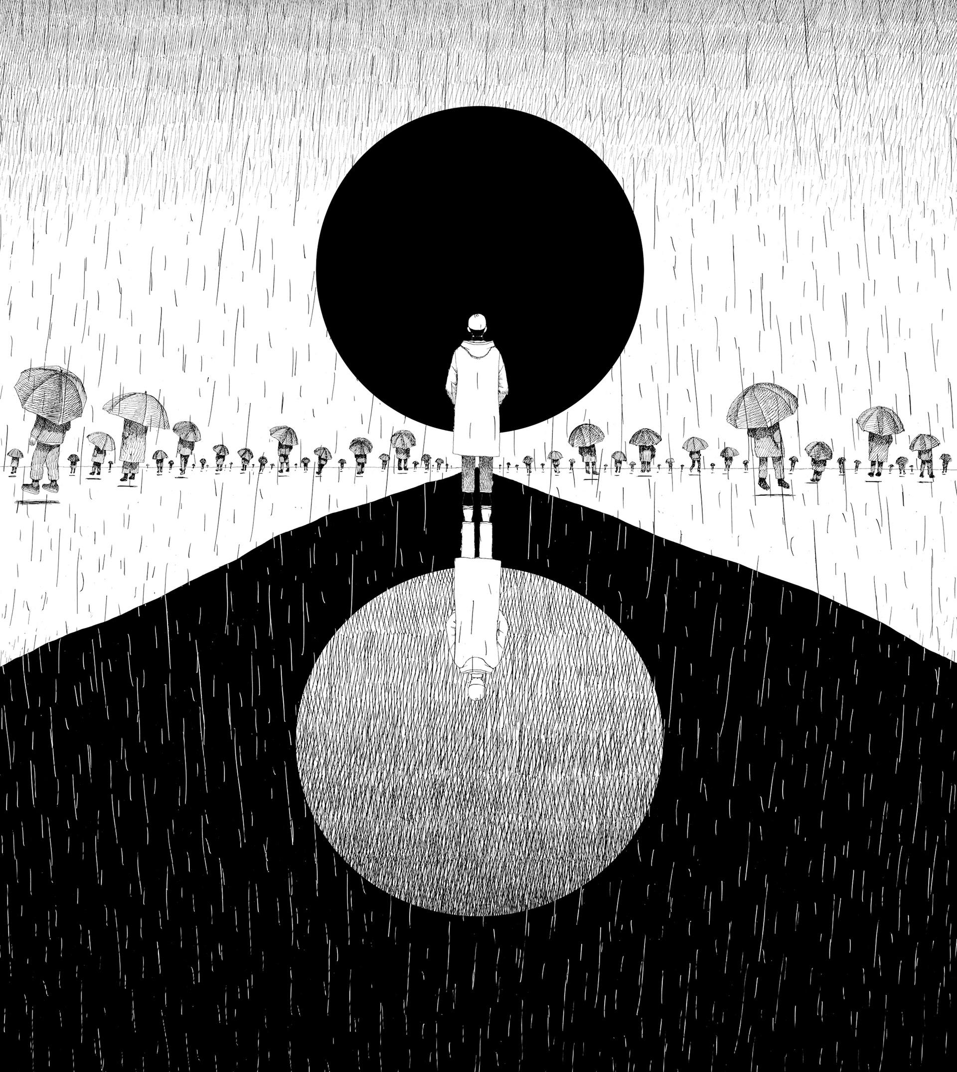 Bts Rm Solo Forever Rain Mv Artwork On Behance