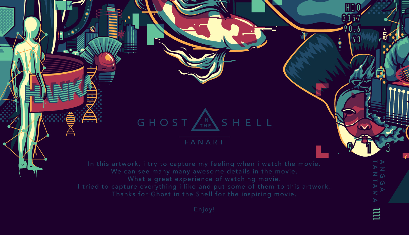 Ghost In The Shell On Behance