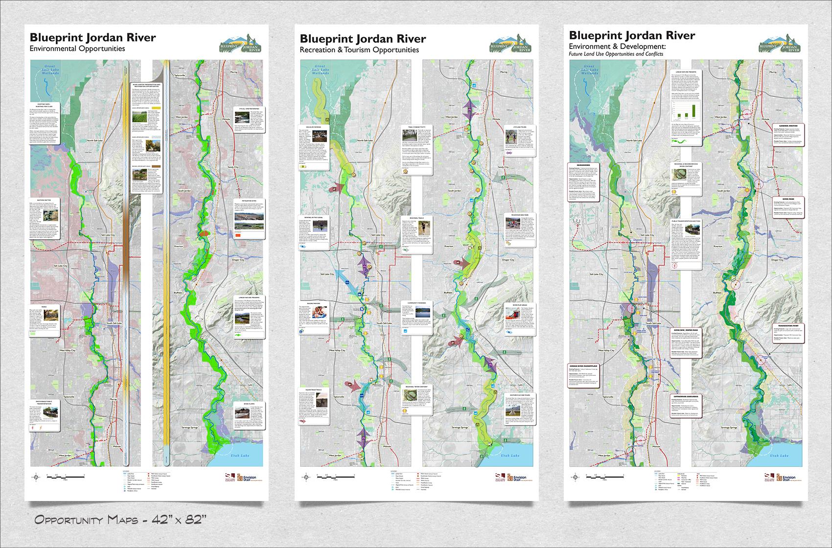 Blueprint jordan river on behance malvernweather Gallery