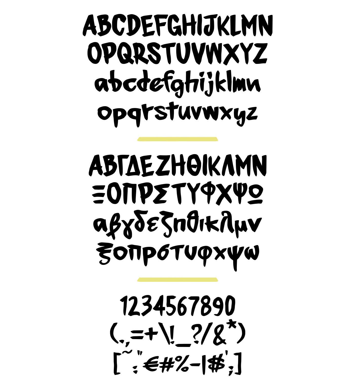 Manoyri // Free Marker Font on Behance