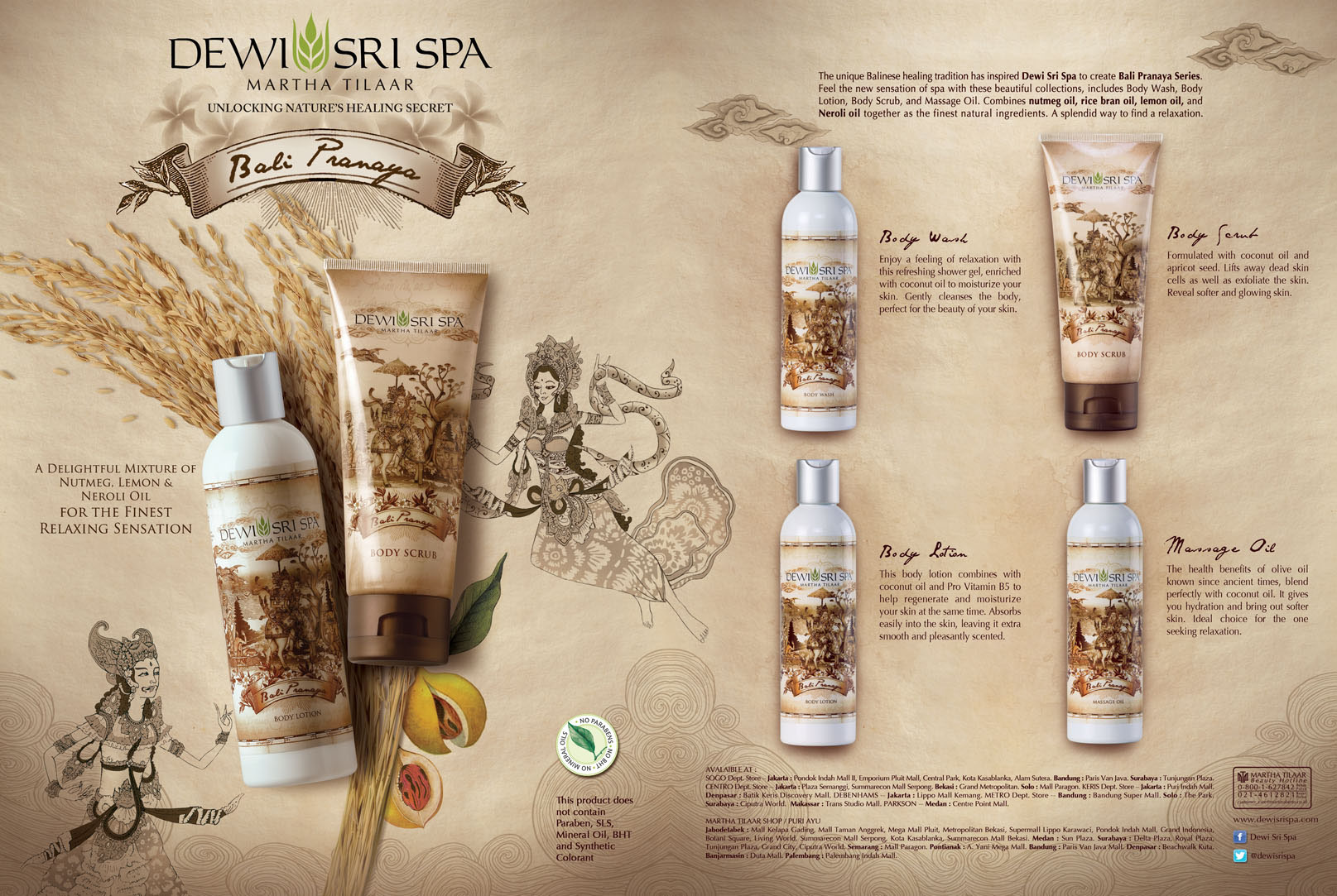 Dewi Sri Spa - Bali Pranaya Series on Behance