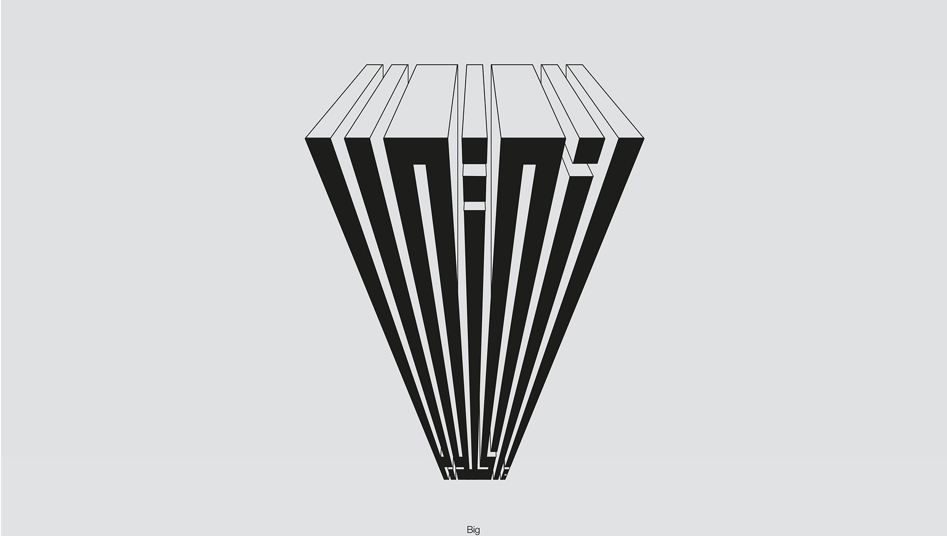 Typography: Inktober Challenge in Expressive Kufic