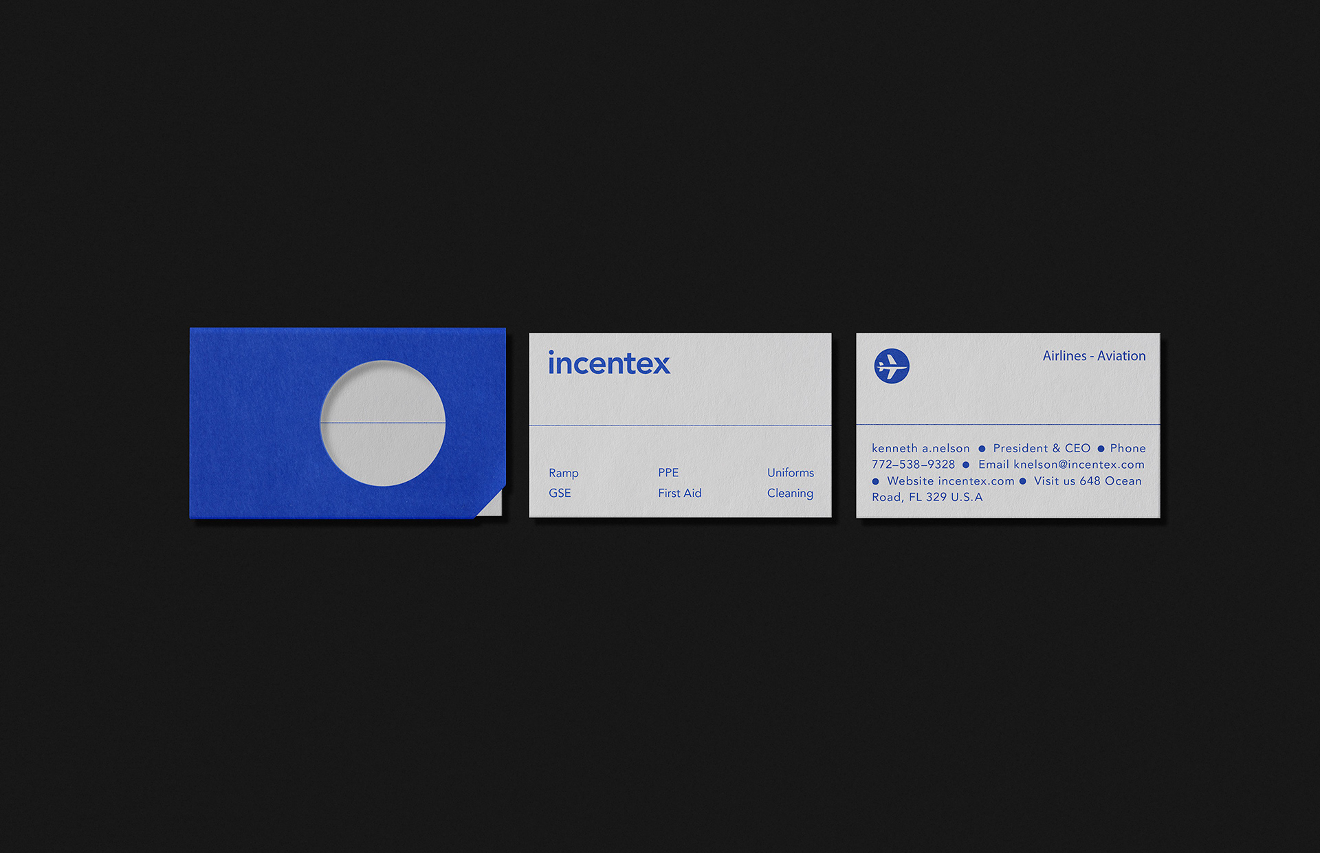 Incentex - Visual identity on Behance