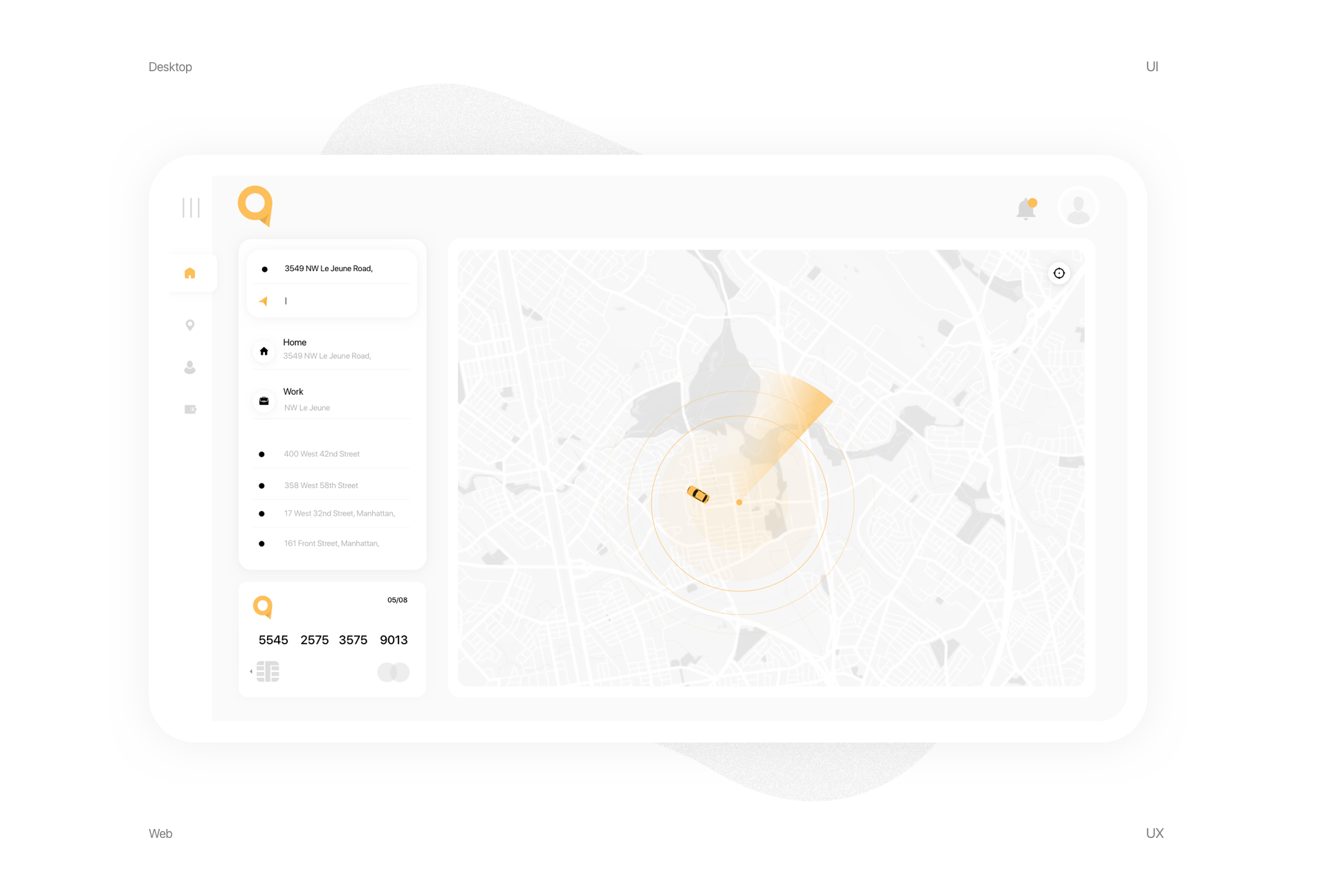 Web & Mobile Experience for Boston Taxi