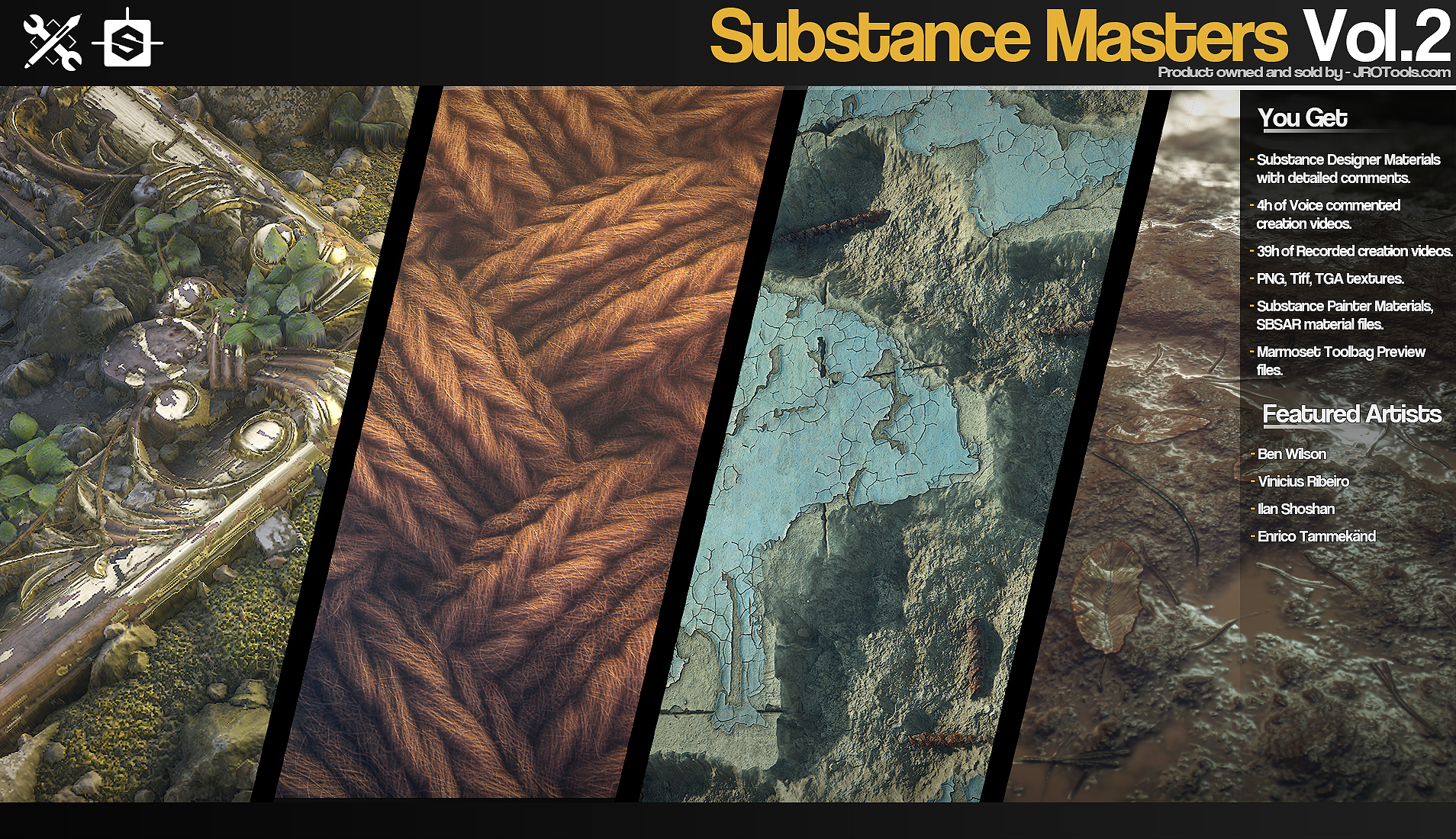 Substance Masters Vol 2 on Behance