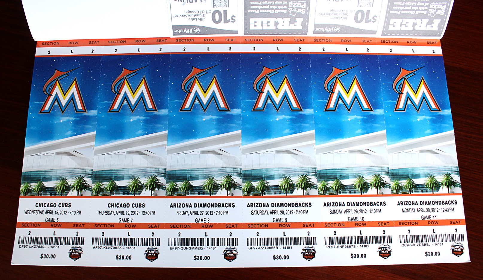 develop general bowl and premium tickets for the inaugural season of the miami marlins agency sme branding