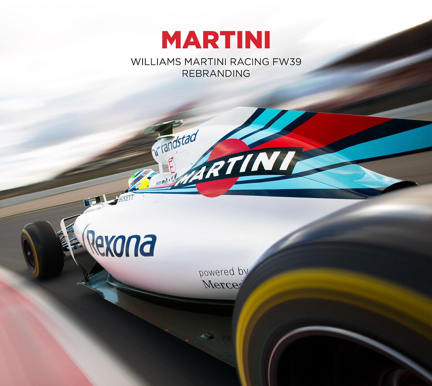 Williams Martini Racing FW39 Rebranding