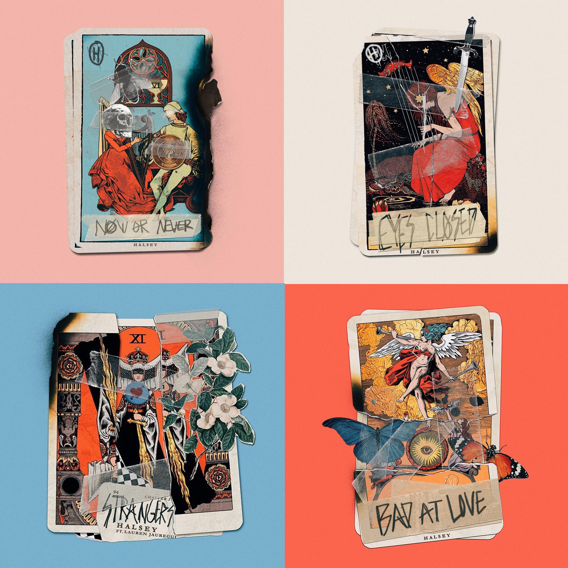 Tarot cards for Halsey's HFK on Behance