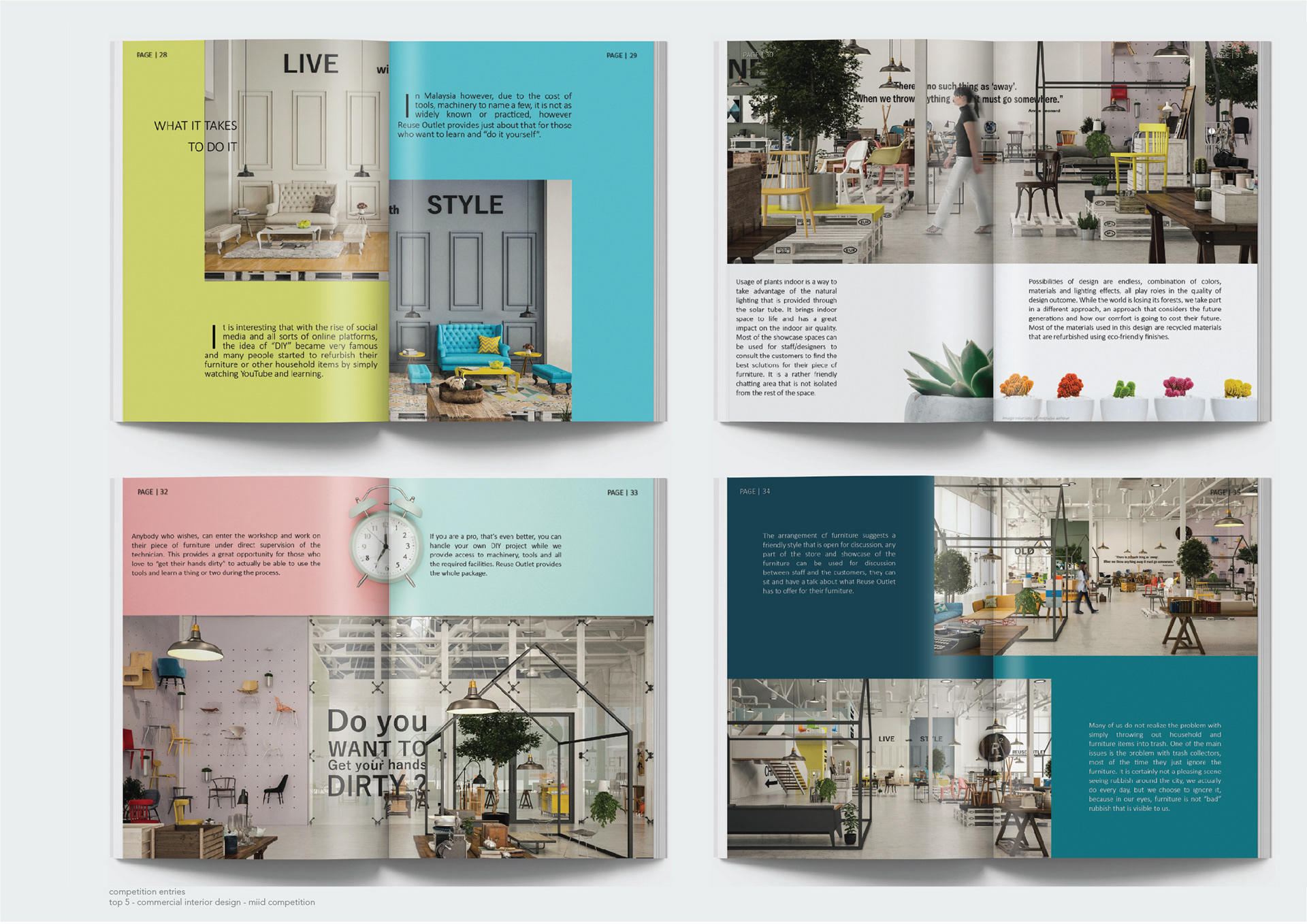 Interior Design Portfolio 2019 On Behance