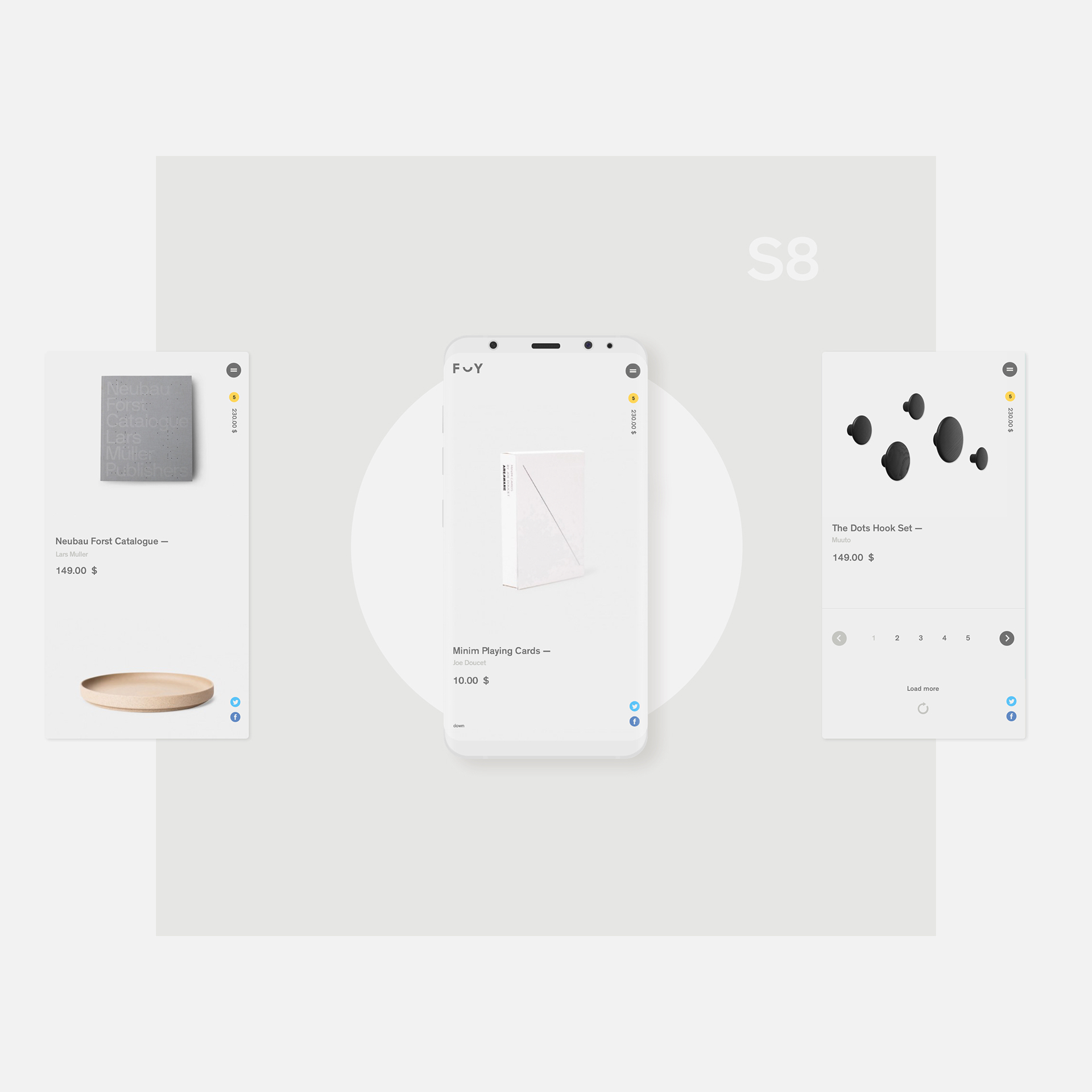 Website Design & UX: Formerly Yes Store Concept