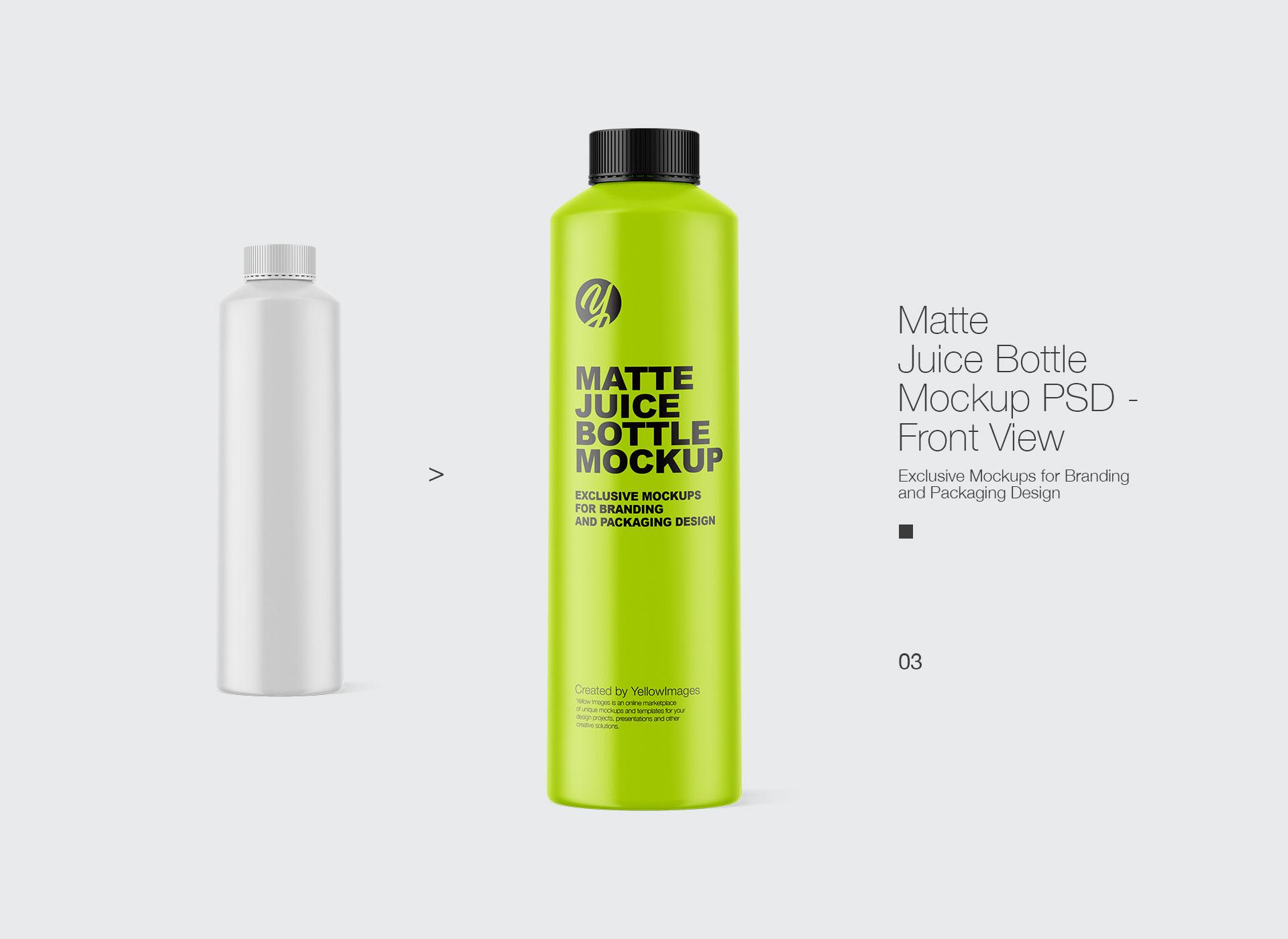 Download Juice Bottle Mockup On Behance PSD Mockup Templates