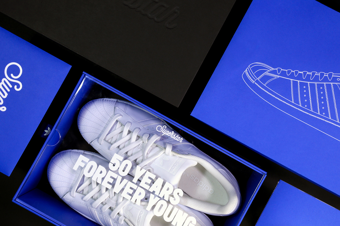 Packaging & Branding: Adidas Superstar 50th Anniversary