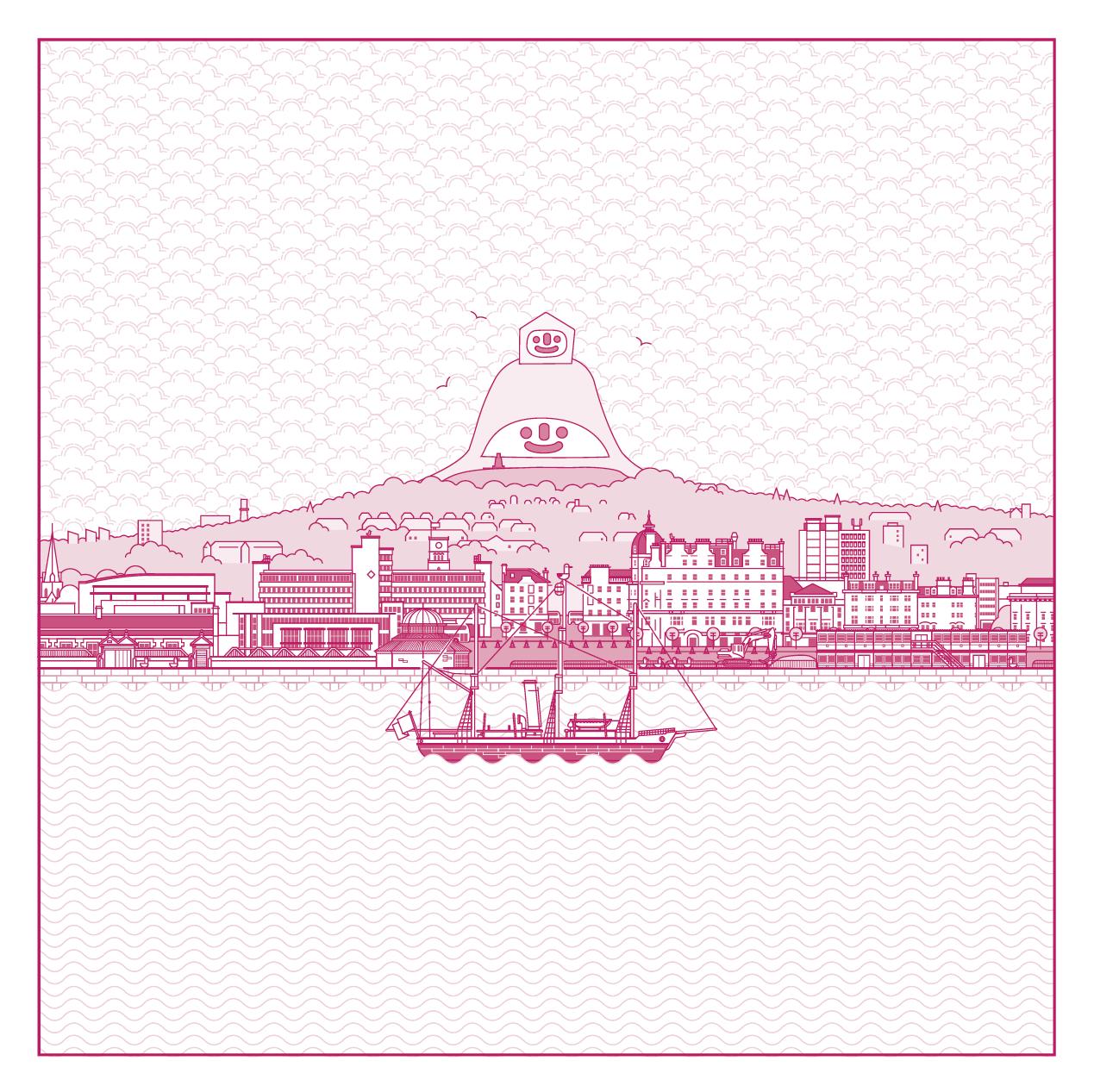 UNESCO City of Design Illustration