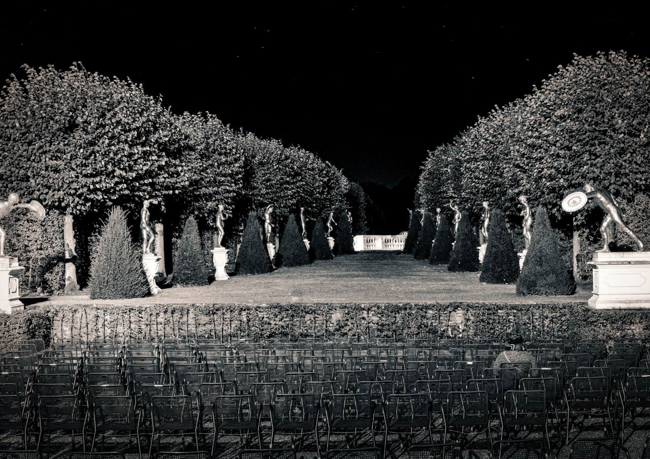 Illumination Black And White Royal Gardens On Behance