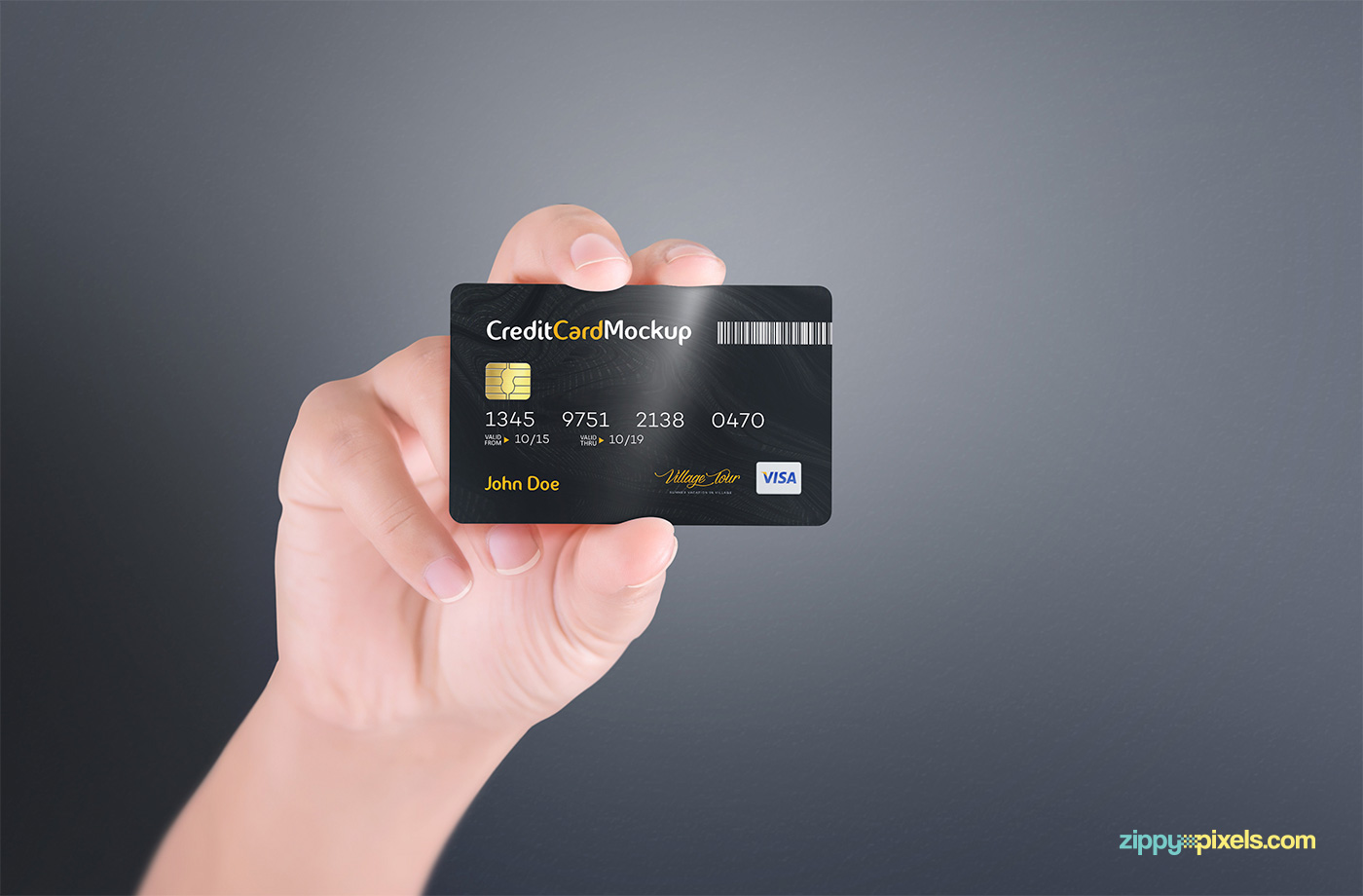 Free Credit Card Mockup On Behance