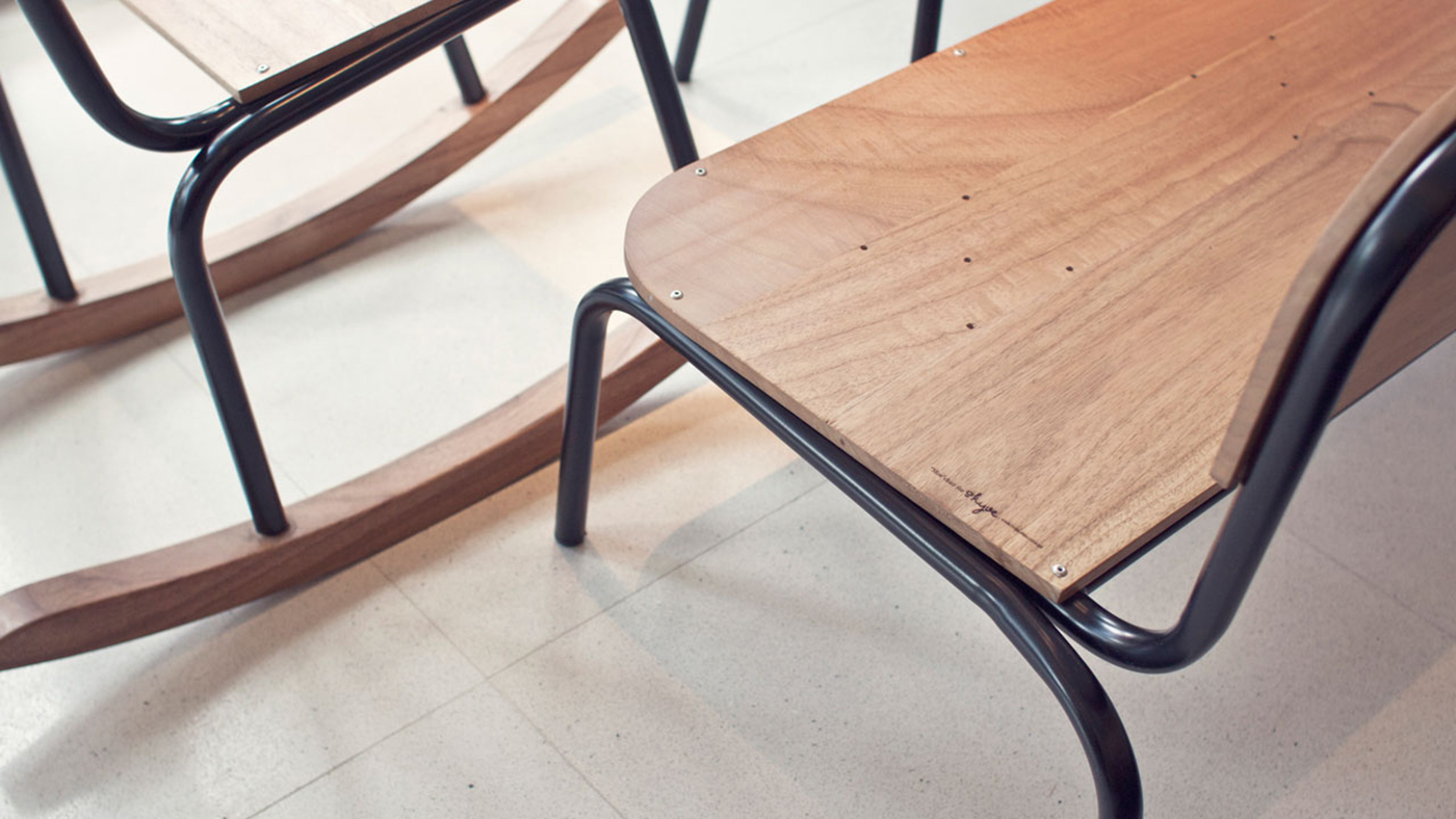 moe chair an old school furniture redesigned on behance