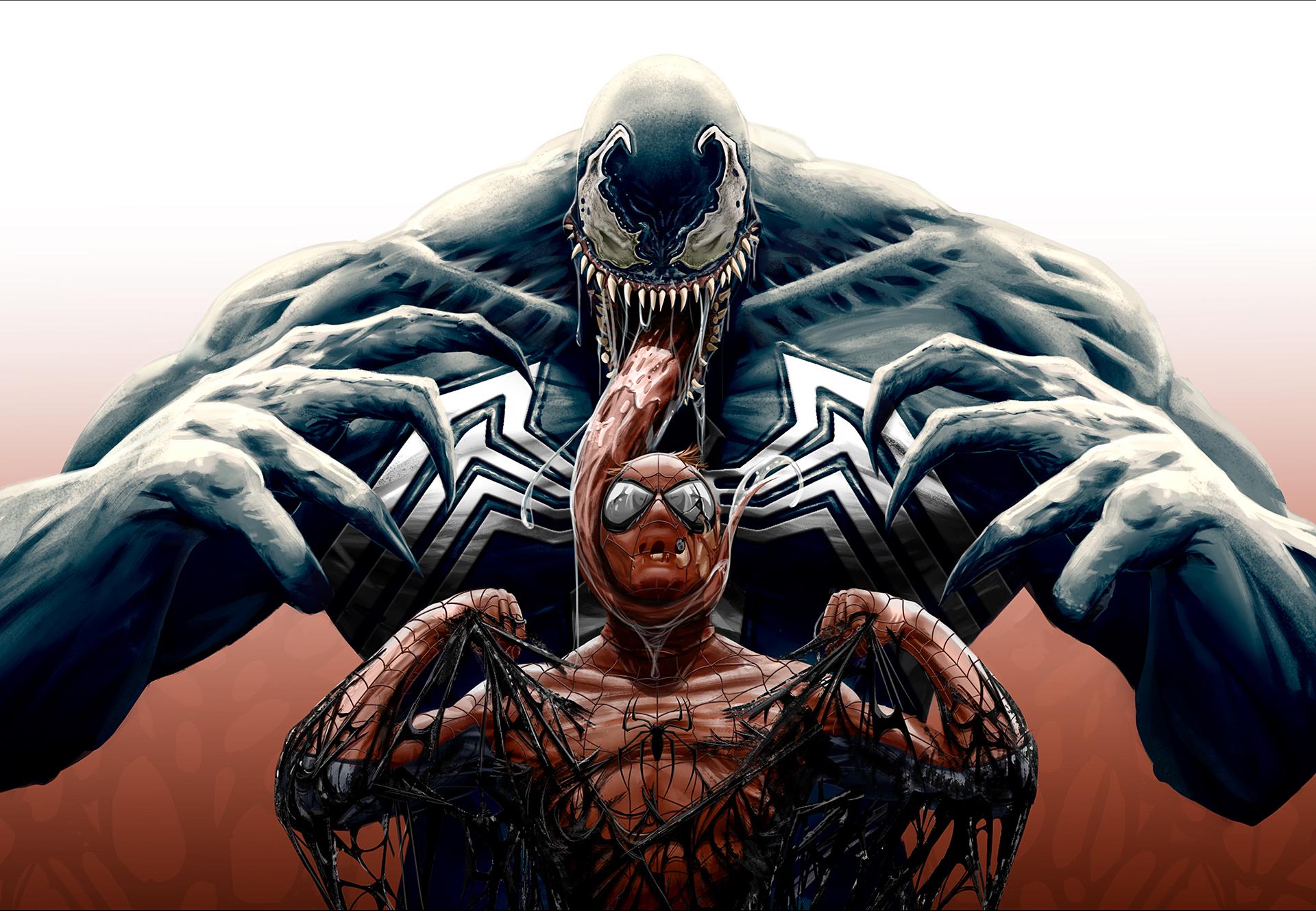 Картинка человек паук монстр
