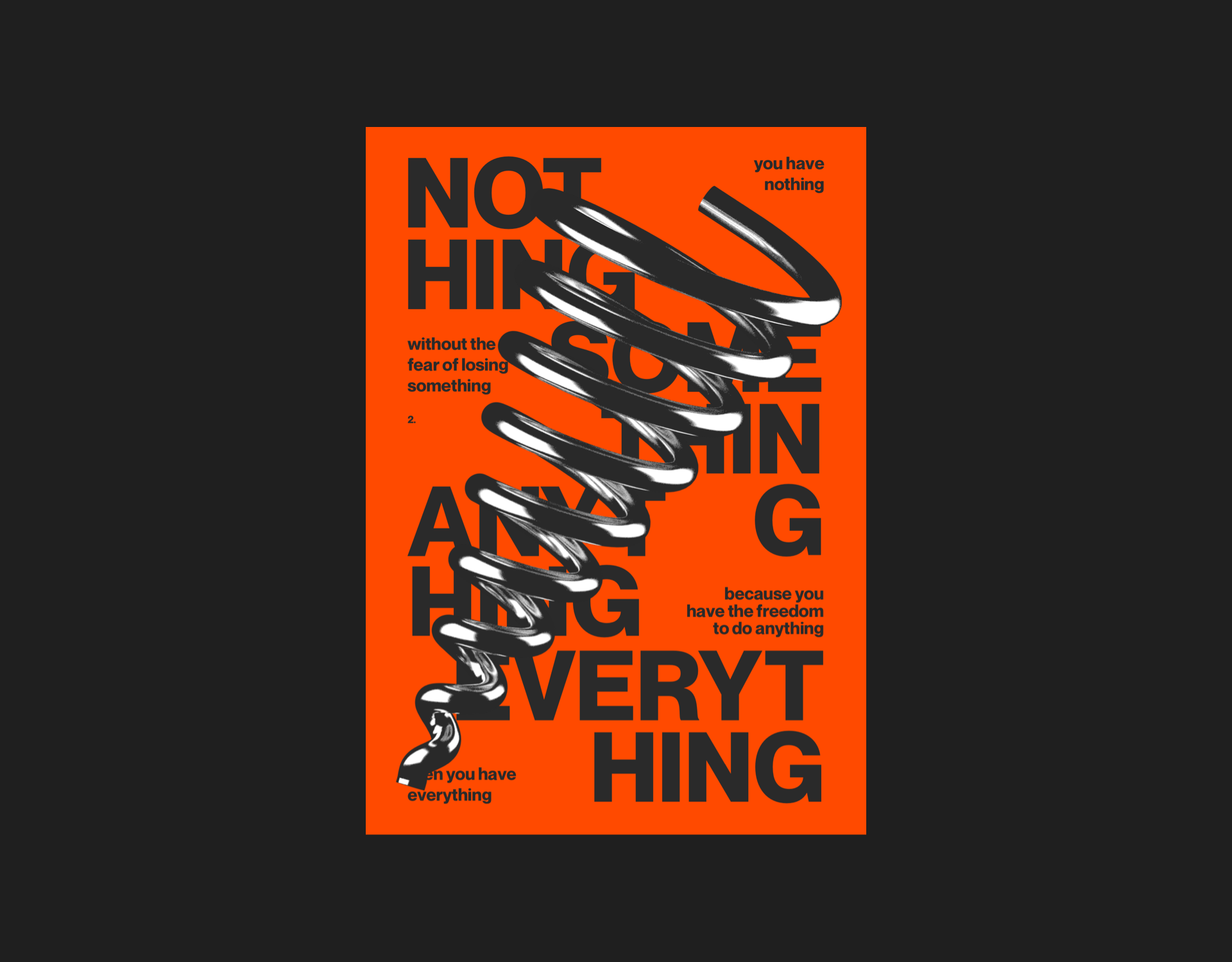 Everything & Nothing Poster Designs by Mitya Andrievskiy