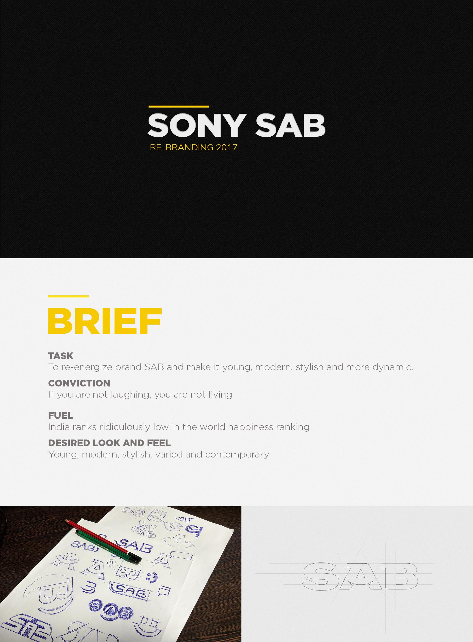 SONY SAB REBRANDING\'17 on Behance