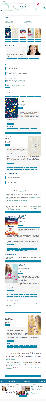 Author Website for Tamara Ireland Stone on Behance