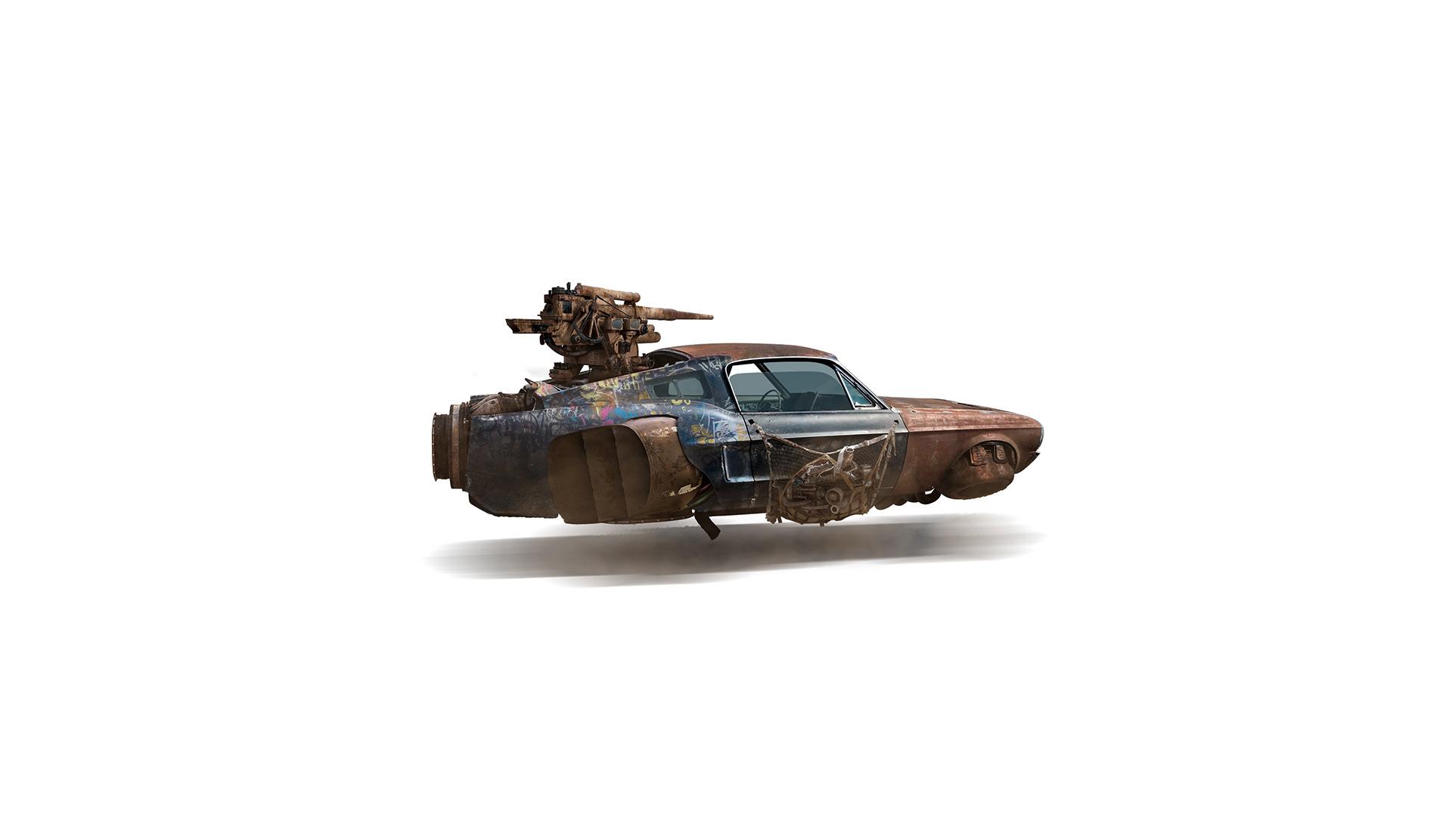 Sci-Fi Vehicules by Zenildo Almeida