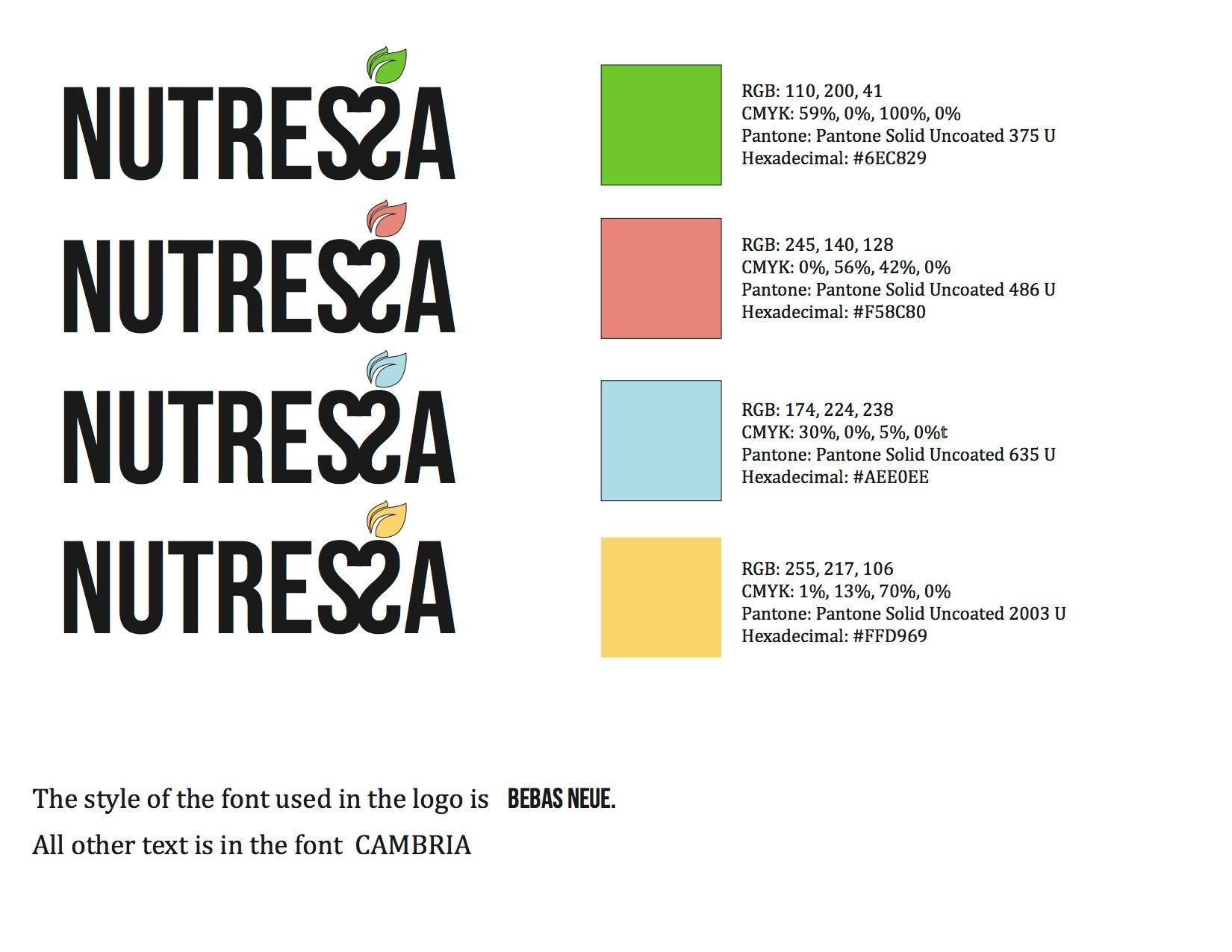 Nutressa Company Identity on Behance