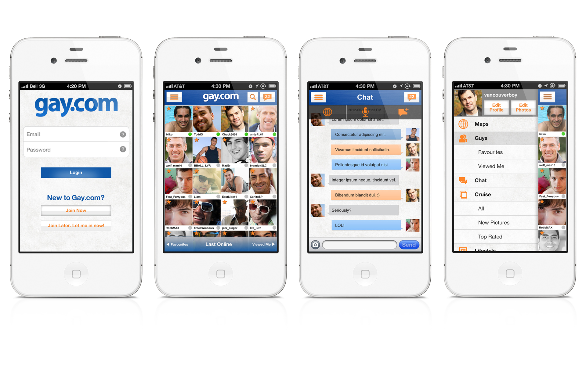 Гей сайт для мобильного 7 фотография