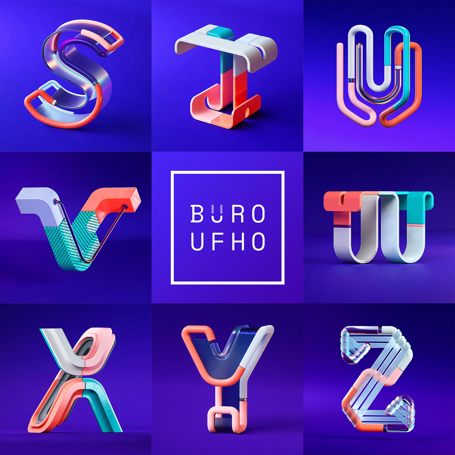 36 Days of Type 2018 with BÜRO UFHO .