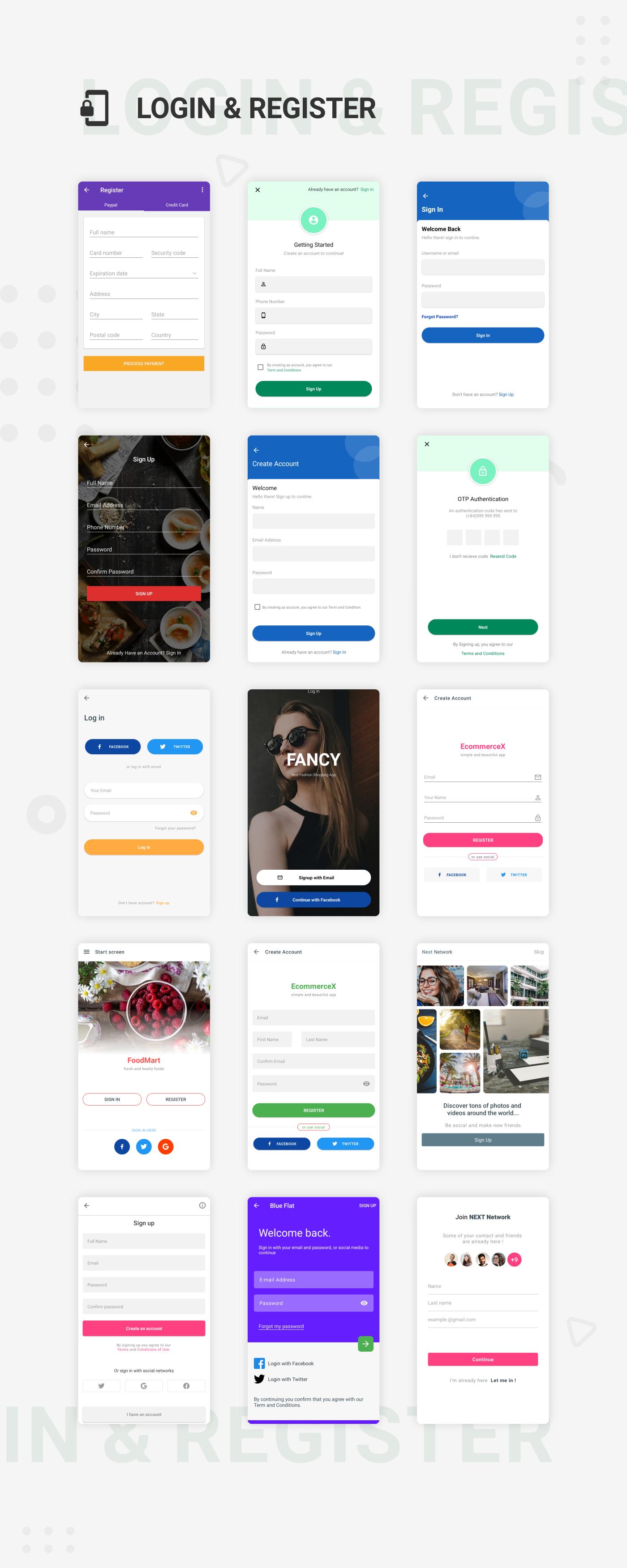 EcommerceX - Premium Ecommerce App UI Kit Template 1.0 - 6