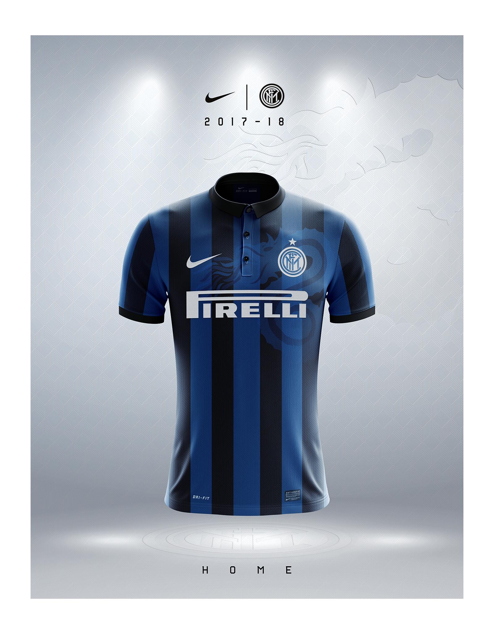 official photos 82a86 3fbdf Snake Concept 2017/18 Inter Shirts | Nike on Behance