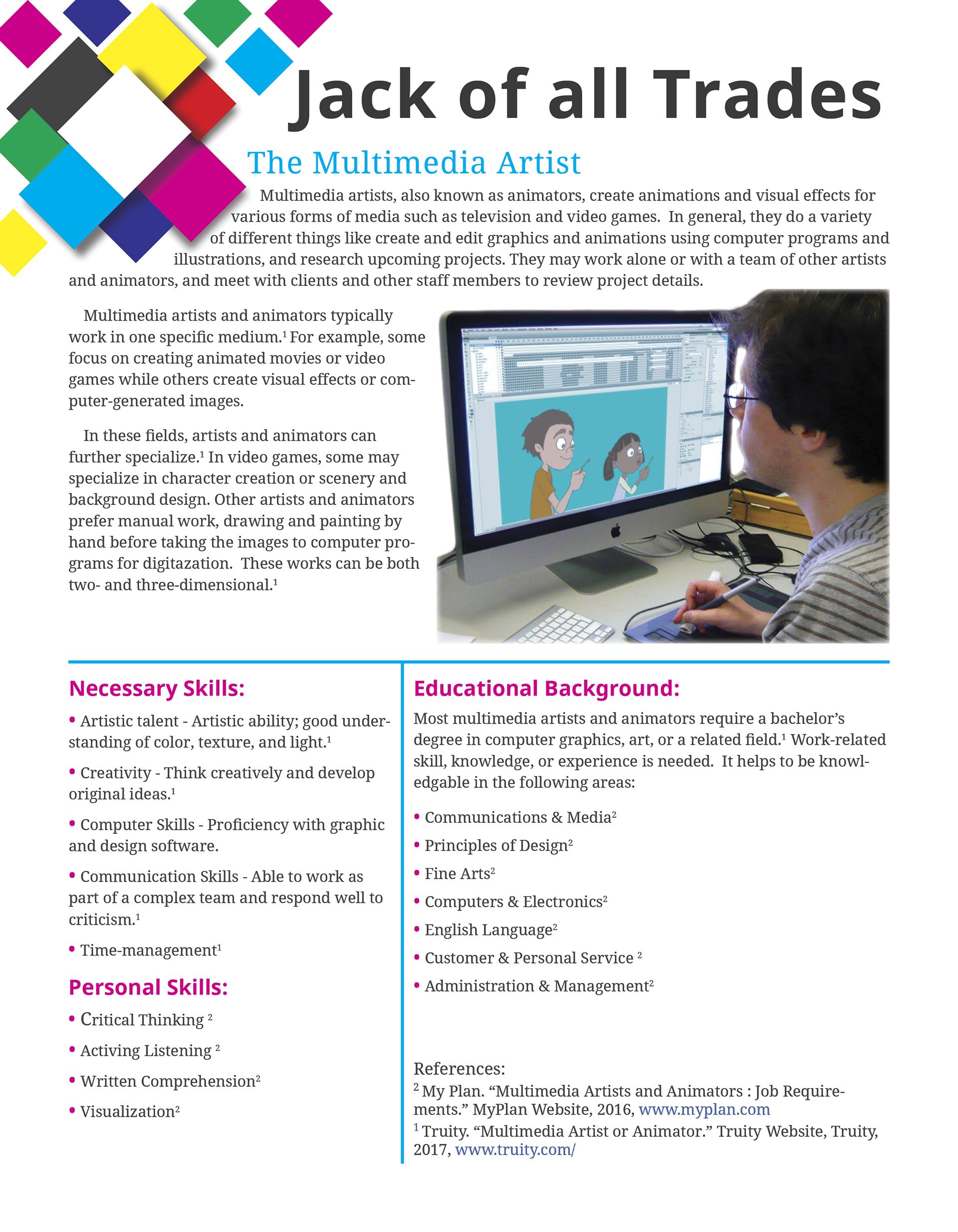 Career Profile Multimedia Artist On Behance