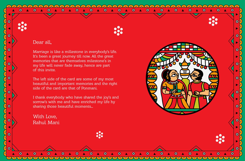 Indian Wedding Card In Phad Painting Folk Art On Behance