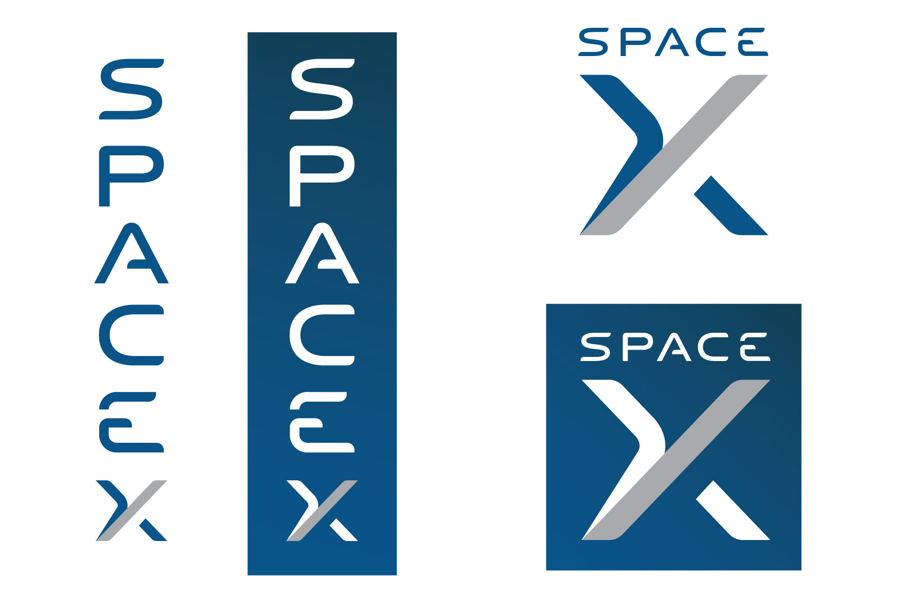 SpaceX Rebrand on Behance