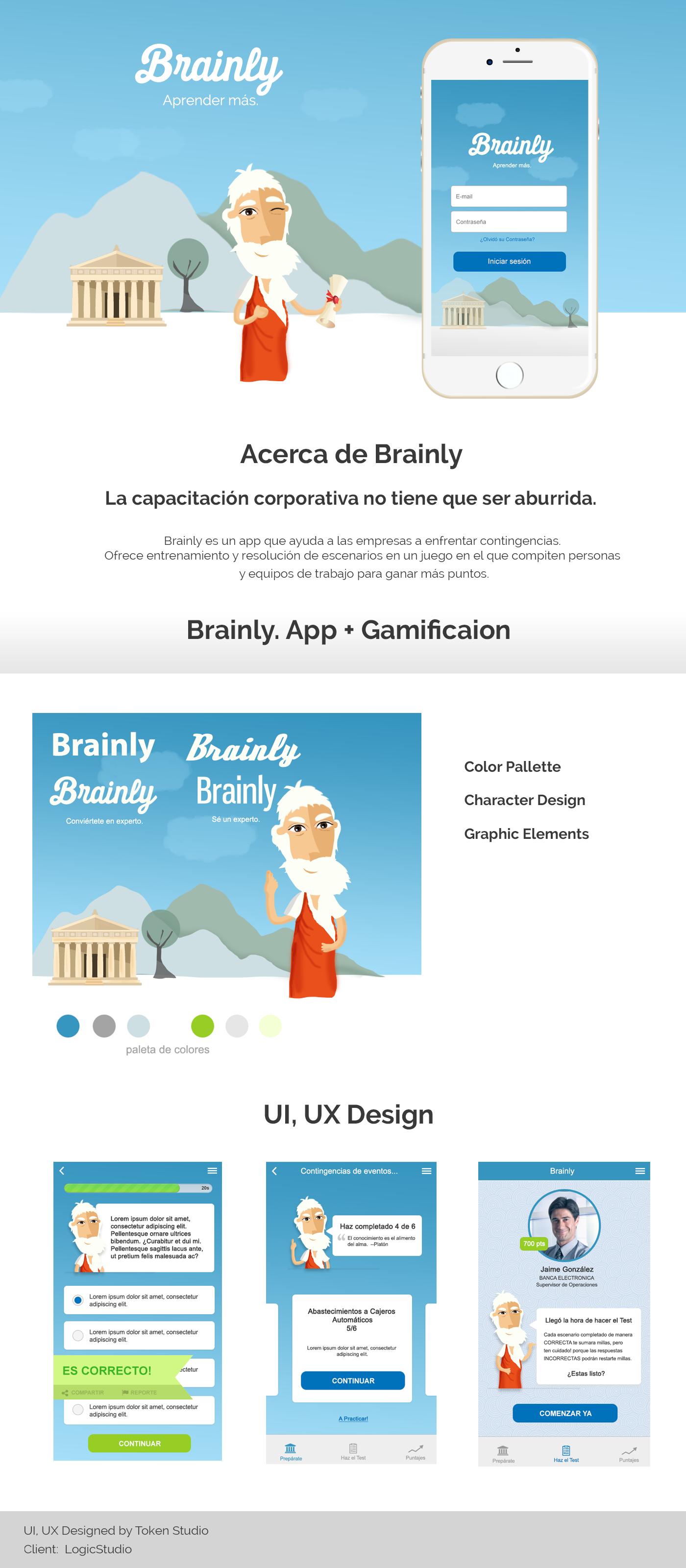 Ui Ux Design Brainly On Behance